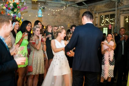 Sophia Webster and Bobby Stockley wedding party