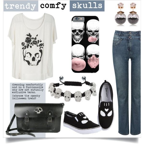 'Trendy Comfy Skulls' by These Heels are Made 4 Walking