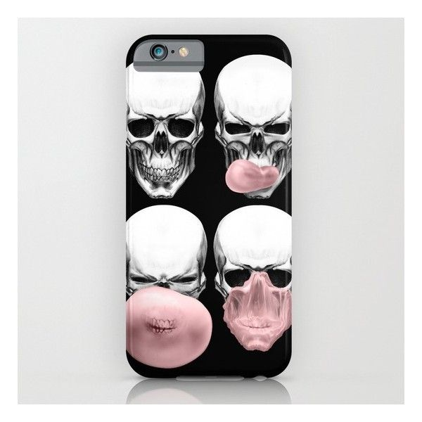 SOCIETY6.COM Skulls Chewing Bubblegum iPhone & iPod Case 32 € / Pic: Polyvore