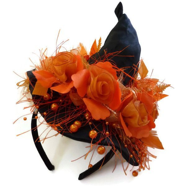 ETSY.COM Witch Hat Fascinator 52 € / Pic: Polyvore