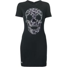 Philipp Plein Embellished Skull T-Shirt Dress 1315 € / Pic: Polyvore