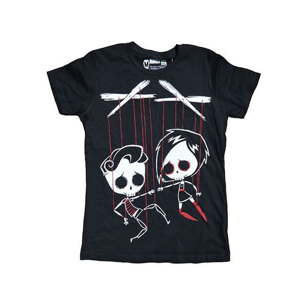 Akumu Ink 'Strings Attached' Tshirt 24 € / Pic: Polyvore
